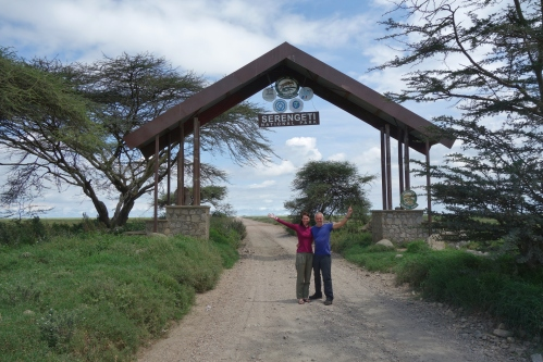 Entry to the Serengeti