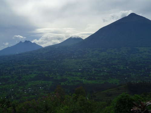 The Virunga Volcanos