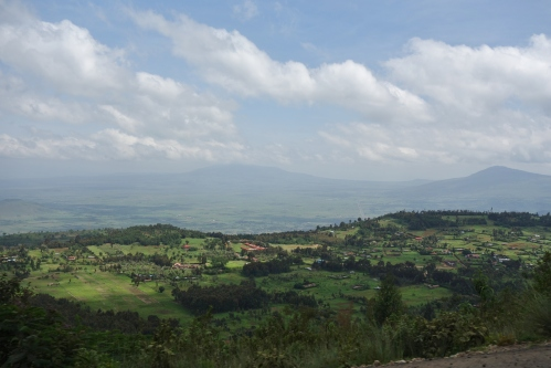 Heading along the Rift Valley