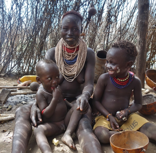 Coffee with the Karo Tribe