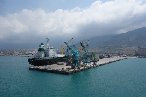 The Port of Iskenderun Turkey