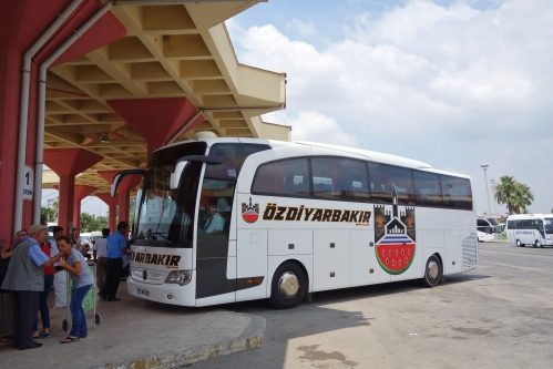 Our Bus from Adana to Iran border