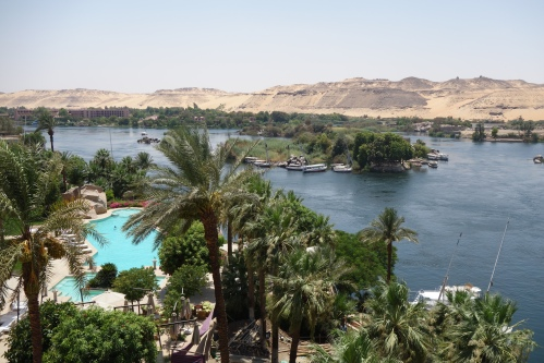 The Nile from the Old Cataract Hotel