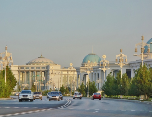 Ashgabat is city dedicated to the colour white