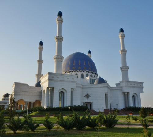 The Mosque at Mary, Turkmenistan