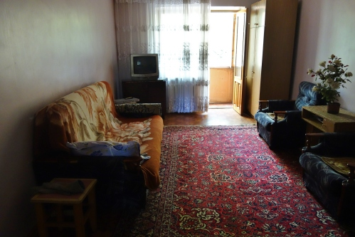 The apartment in Bishkek