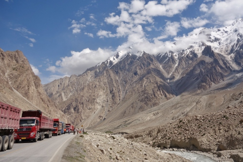 The Karakorum Highway