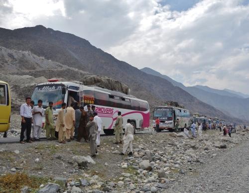Karakoram Bus Convoy