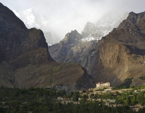 The Baltit Fort Hunza Valley