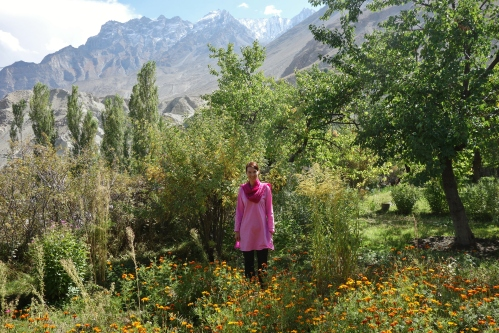 Khaplu Palace Garden