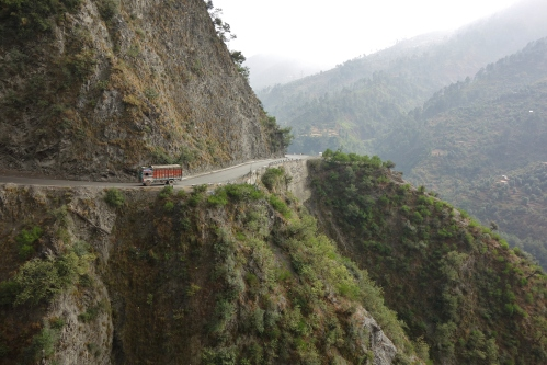 Road from Jammu to Srinagar