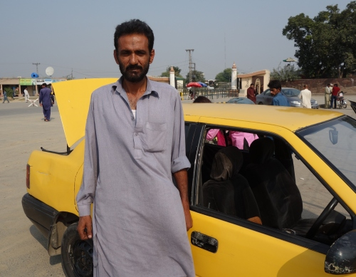 Tahir our kind taxi man