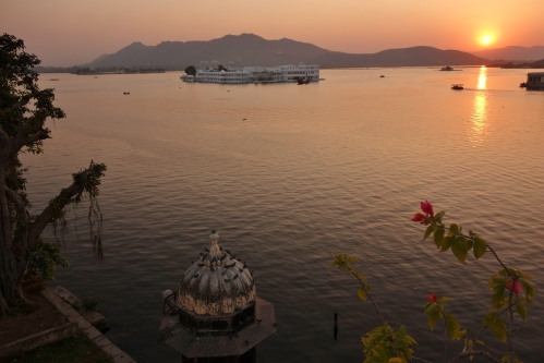 The Lake Palace in Udaipur