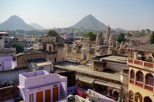 Brahma temples in Pushkar