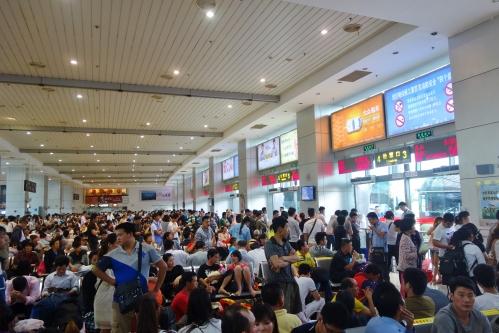 Shanghai South bus terminal