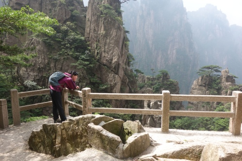 Huangshan the yellow mountains