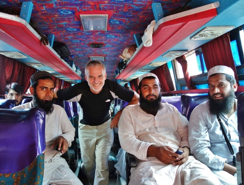 Bus travel in Pakistan