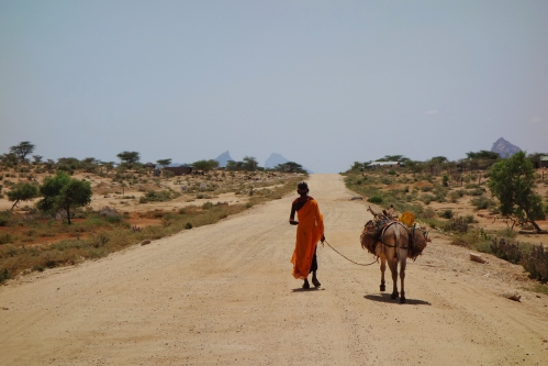 The road to Ethiopia