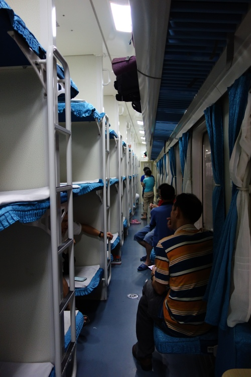 Hard Sleeper carriages in China