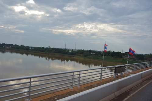 Laos Thai border