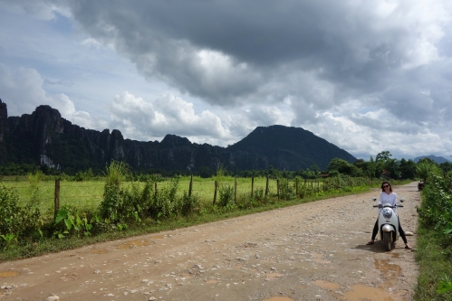 Back roads of Vang Vieng