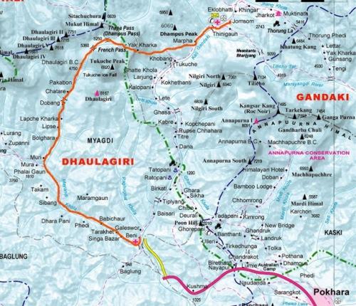 dhaulagiri-circuit-trekking-map